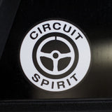 "Circuit Spirit OG logo 4"" Decal"