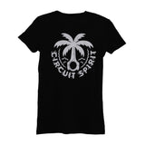Palm Piston Womens Tee