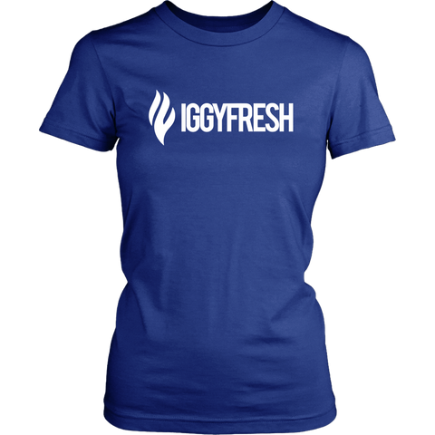 Womens IGGYFRESH logo Tee
