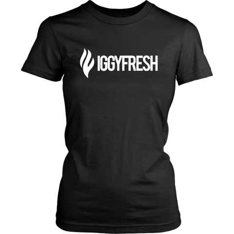 Limited Womens IGGYFRESH logo Tee