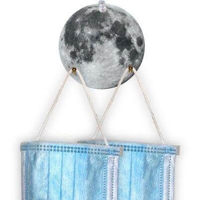 Moon Ornamental Mask Holder #T208