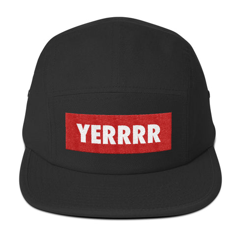 YERRR Five Panel Cap