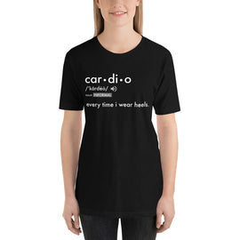Women's Definitions Of Life. Cardio Tshirt