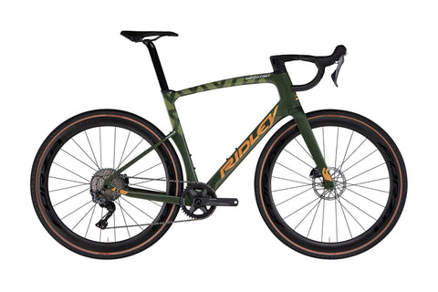 Ridley Kanzo Fast GRX800 Army Green/Gold Metallic