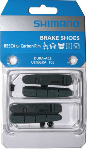 BR-9000 BRAKE PAD INSERTS R55C4 for CARBON RIM 2 PAIR