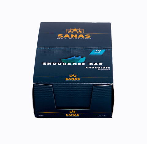 Sanas Endurance Salty Caramel Bar 12 Pack
