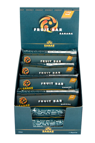 Sanas Banana Fruit Bar 12 Pack