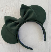 Suede Green Ears