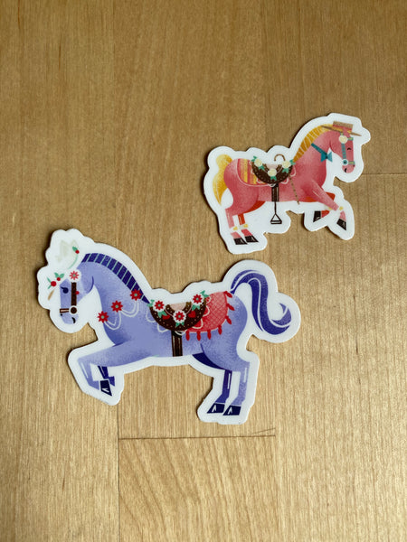 Carousel Horse Stickers