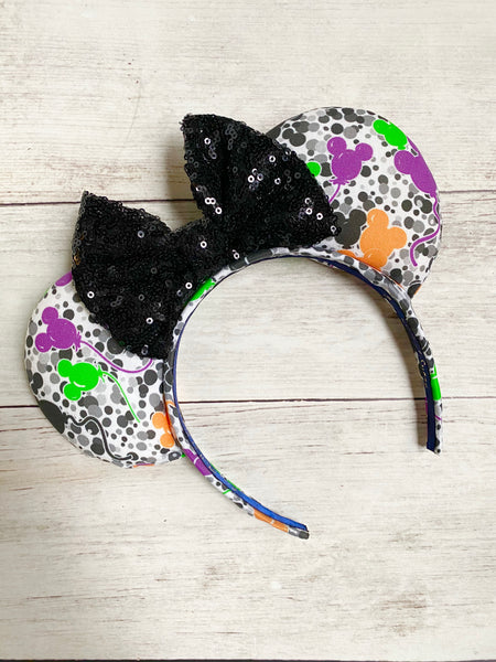 Halloween Balloon Confetti EARS