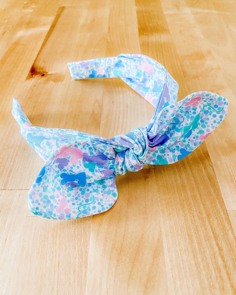 Fanasty Balloon Confetti  TIE HEADBAND