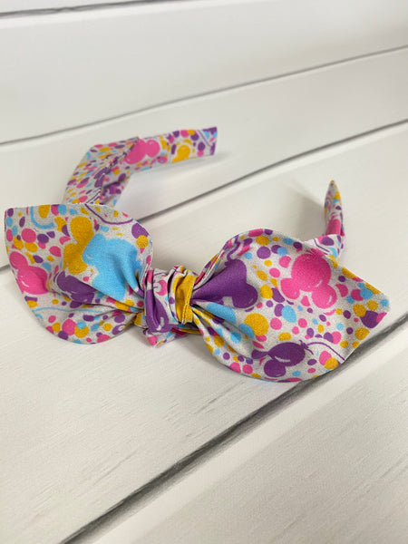 Illumination Balloon Confetti TIE HEADBAND