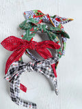 Christmas Tie Headbands