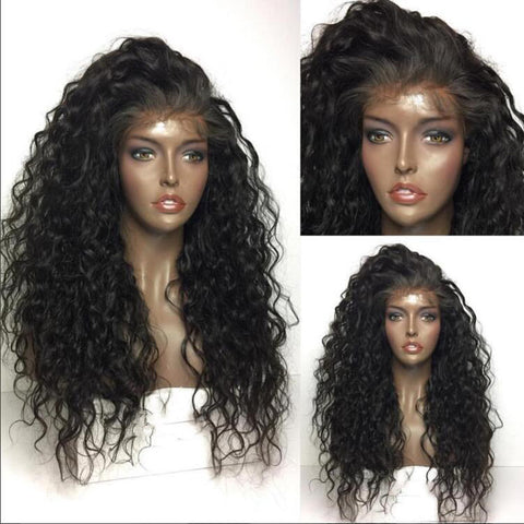 360 Curly Hair Lace Wig