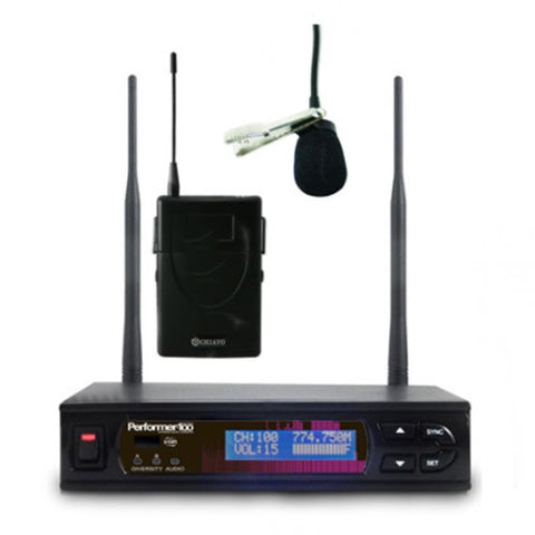 Chiayo PERFORMER-100 M Lapel Wireless System Package
