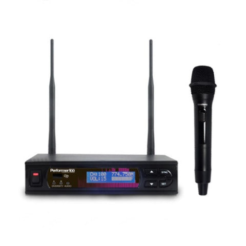 Chiayo PERFORMER-100 Q Handheld Wireless System Package