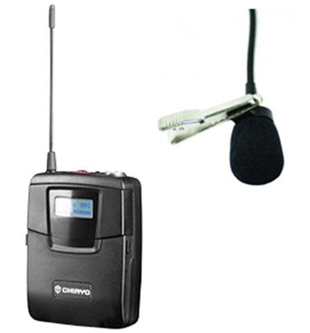 CHIAYO SM6100/MC16 Lapel Mic and Bodypack Transmitter