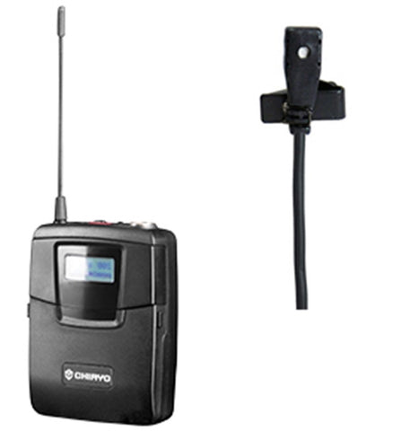 CHIAYO SM6100/MC520 Lapel Mic and Bodypack Transmitter