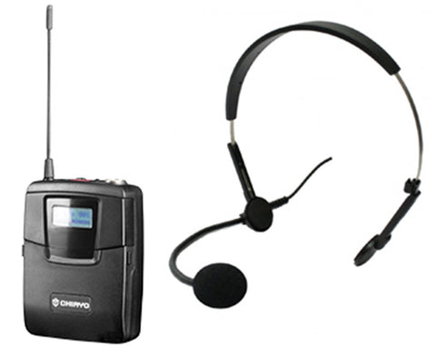 CHIAYO SM6100/MC72 Headset Mic and Bodypack Transmitter