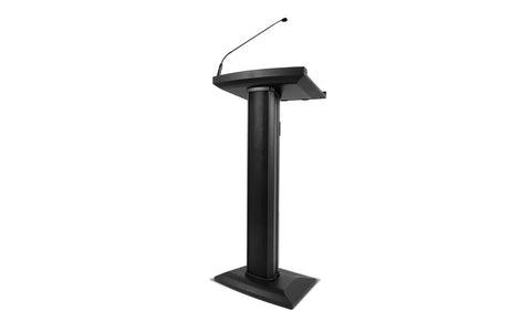 portable audio lectern for multi-media presentations