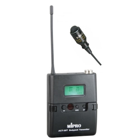 Mipro ACT30T Wireless Bodypack Transmitter w/ MU53S lapel mic Band 6B