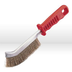 "85100 Jaz USA Hand Scratch Brush,Plastic handle,Face 5/8"",Wire.014"""