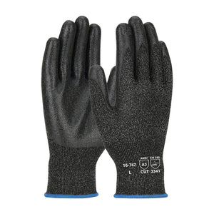 Seamless Knit Polykor™ Blended Glove With Pvc Coated Smooth Grip On Palm & Fingers