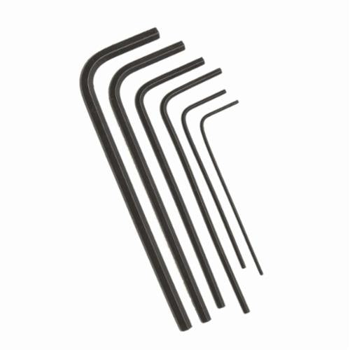 Allen 56395 Metal Fold-Up Metric Hex Key Set, 7 Pieces, Alloy Steel