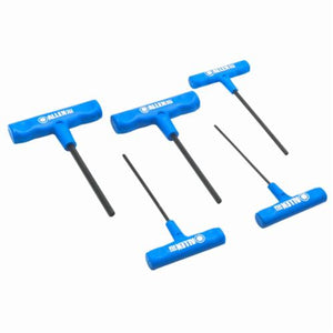 Allen 56093 Metric Hex Key Set, 5 Pieces, Alloy Steel
