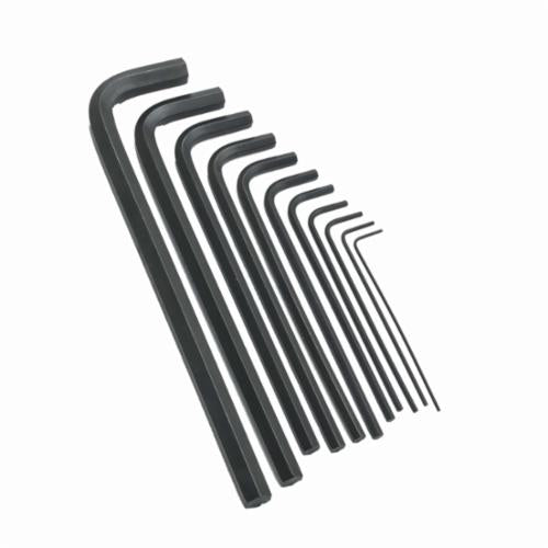 Allen 56318 Metal Fold-Up SAE Hex Key Set, 9 Pieces, Alloy Steel