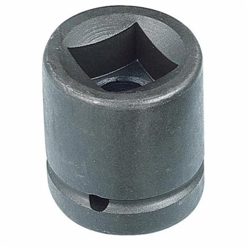 Armstrong 22-424 SAE Standard Length Impact Socket, 3/4 in Socket, 1 in Drive, 2-1/4 in OAL, High Alloy Steel, 4 Points