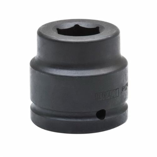 Armstrong 23-078 SAE Standard Length Impact Socket, 2-7/16 in Socket, 1-1/2 in Drive, 4-1/8 in OAL, High Alloy Steel