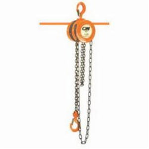 2208 Hand Chain Hoist, 1/2 ton Load, 15 ft Lifting Height, 11-5/8 in, 53 lb