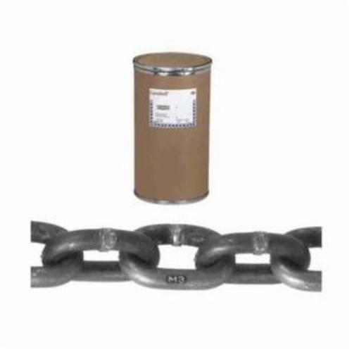 Campbell 0120622 System 3 Welded Proof Coil Chain, Single Loop, 3/8 in Trade, 2650 lb Load, 30 Grade