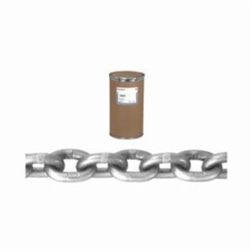 Campbell 0180432 System 4 Welded Proof High Test Chain, Single Loop, Straight Link, 1/4 in Trade, 2600 lb Load