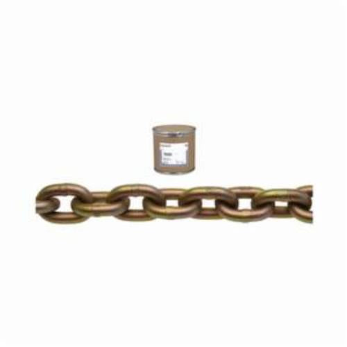 Campbell 0510412 System 7 Welded Proof Transport Chain, Single Loop, Straight Link, 1/4 in Trade, 3150 lb Load