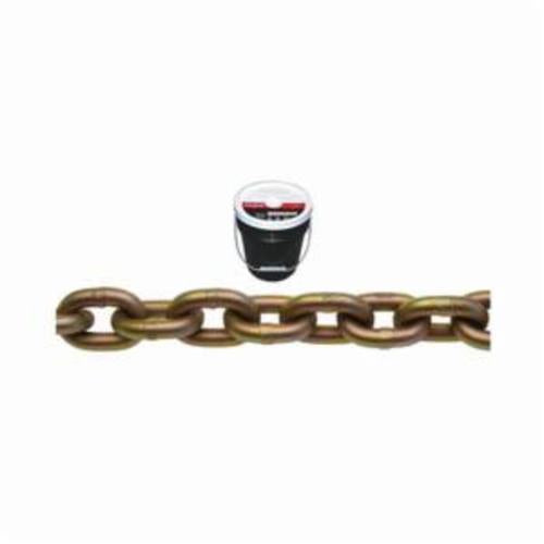 Campbell 0510613 System 7 Welded Proof Transport Chain, Single Loop, Straight Link, 3/8 in Trade, 6600 lb Load