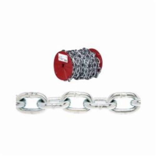 Campbell 0725027 System 3 Welded Proof Coil Chain, Single Loop, 3/16 in Trade, 800 lb Load, 30 Grade