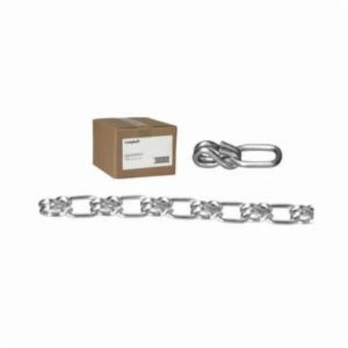 Campbell 0741024 Weldless Chain, Lock, Single Loop, Straight, Wrapped Link, 1/0 Trade, 265 lb Load, 100 ft L