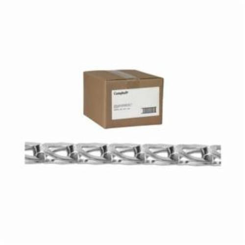 Campbell 0890844 Counter Balance Welded Sash Chain, Single Loop, Straight Link, #8 Trade, 75 lb Load, 100 ft L