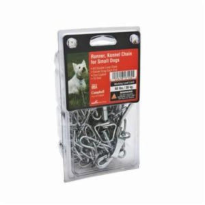 Campbell 3129504 Dog Runner and Kennel Chain, Steel