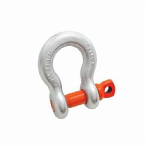 Campbell 5410895 Anchor Shackle, 3-1/3 ton Load, 1/2 in, 5/8 in Screw Pin, 13/16 in Opening, Galvanized