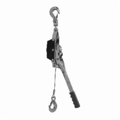 Campbell 6312035 Cable Puller, 1 ton Pulling, 1/2 ton Lifting, 3/16 in Dia x 10.5 ft L
