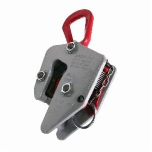 Campbell 8E Locking E-Plate Clamp, 8 ton Load, 1/2 - 2-1/2 in Jaw, 14-1/8 in W, Lever