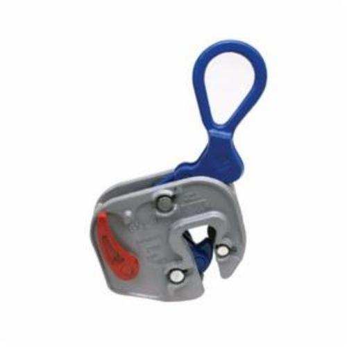 Campbell 6422001 Plate Clamp, 1 ton Load, 1/16 - 3/4 in Jaw, 6-9/16 in W, Forged Steel, Load Activated