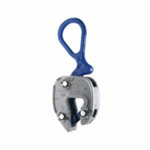 Campbell 6423010 Plate Clamp, 3 ton Load, 1/16 - 1 in Jaw, 6 in W, Forged Steel, Load Activated