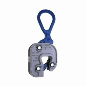 Campbell 6423100 Structural Short Leg Plate Clamp, 1/2 ton Load, 1/16 - 5/8 in Jaw, 4 in W, Forged Steel