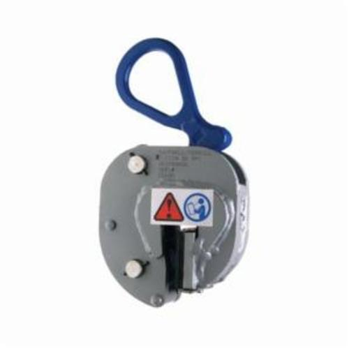 Campbell 6423600 Lifting Clamp, 1/2 ton Load, 1/16 - 3/8 in Jaw, Forged Steel, Rubber Pad, Load Activated