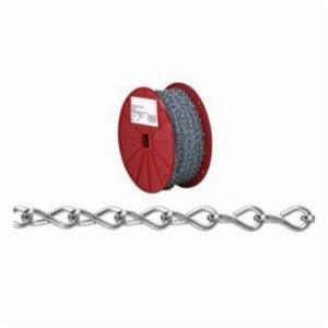 Campbell AW0801427 Chain, Single Jack Link, NO 14 Trade, 16 lb Load, 200 ft L