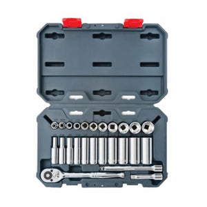 CSWS8 Standard/Deep Length Socket Wrench Tool Set
